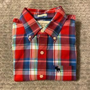 Abercrombie Long Sleeve Button Up Shirt